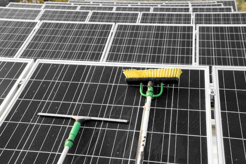 solar panel cleaning equipment